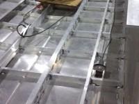 Kajutová hliníková loď