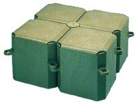 plastovy ponton modul 0,5x0,5