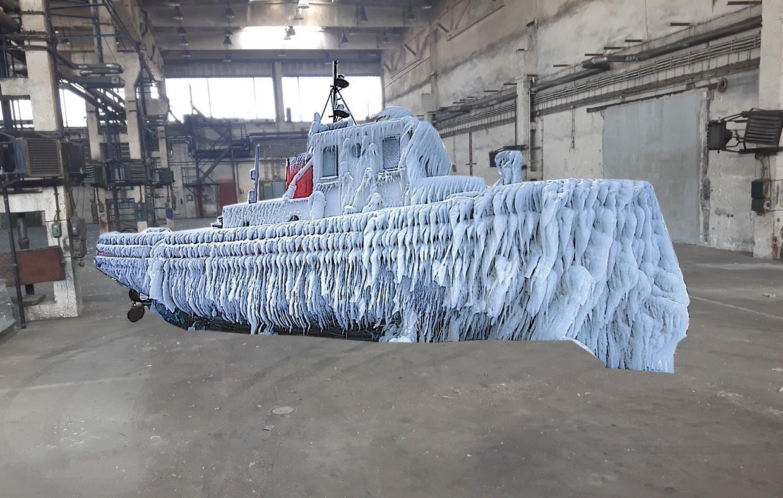 hala s lodkou